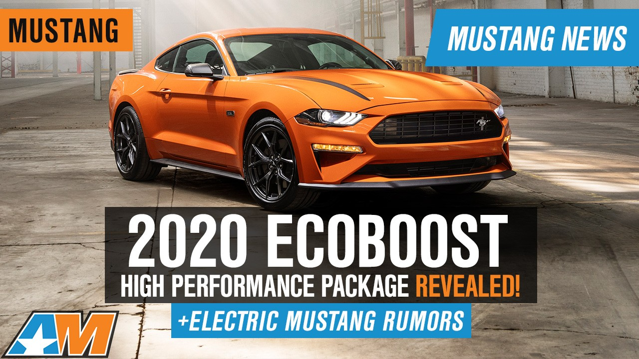 bafdf658 We are excited to learn the great news about the new 2020 Ford Ecoboost  Mustang from our partners at American Muscle. Check out this new most  advanced ...